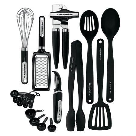 17- PIECES KITCHEN SET – KitchenAid by Lifetime Brands
