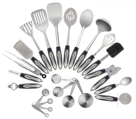 23-PIECES KITCHEN SET- Stainley Steels by Chef Essential