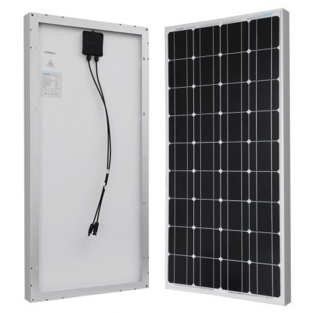 100 Watt 12 Volt Monocrystalline Solar Starter Kit