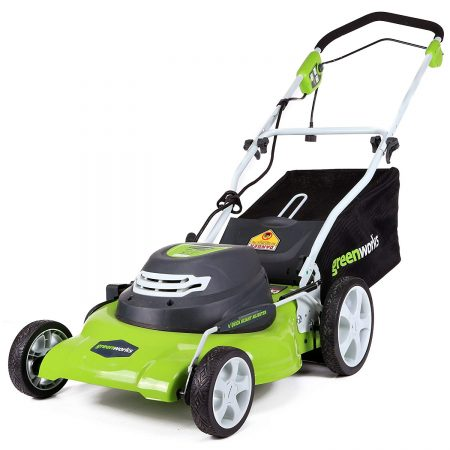 20-Inch 12 Amp Corded Lawn Mower