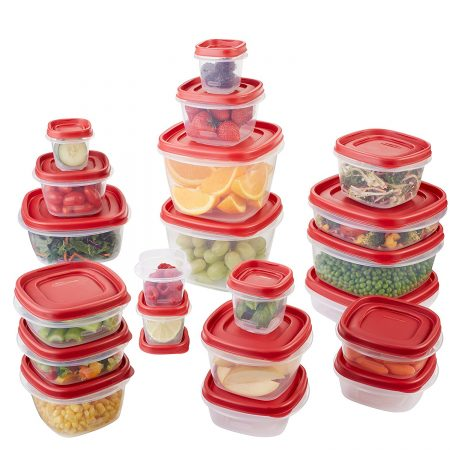 42 Parts Food Storage Containers