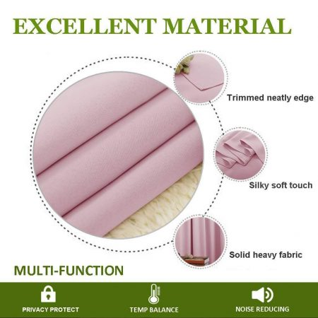 Insulated Solid Grommet Top Blackout Curtains