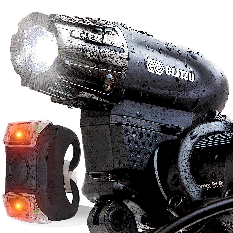 Rechargeable Bike Light Set