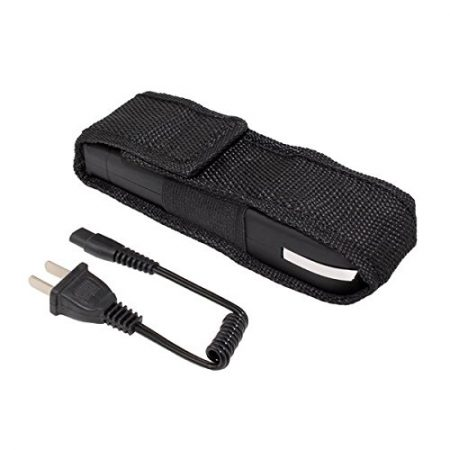 Rechargeable Stun Gun with LED Flashlight