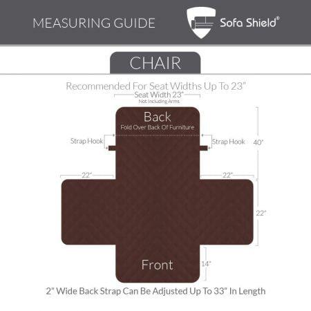 Reversible Chair Slipcover