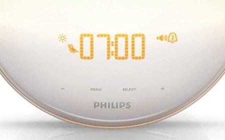 Wake-Up Light Alarm Clock with Colored Sunrise Simulation