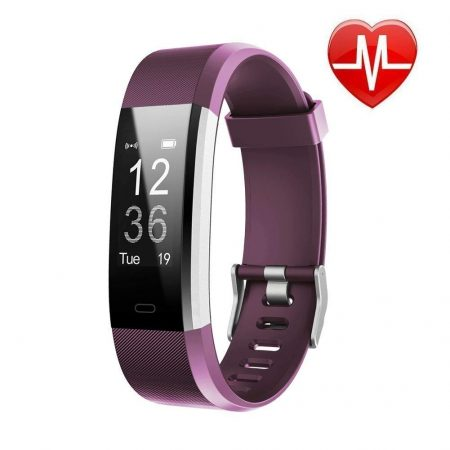Waterproof Smart Fitness Band with Step Counter