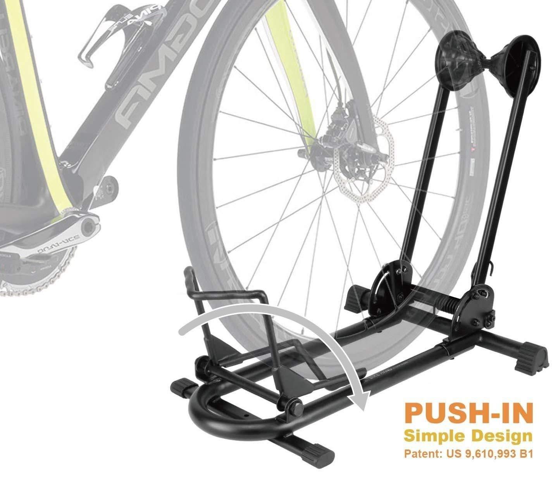Bike Floor Parking Rack Storage Stand Useful Tools Store