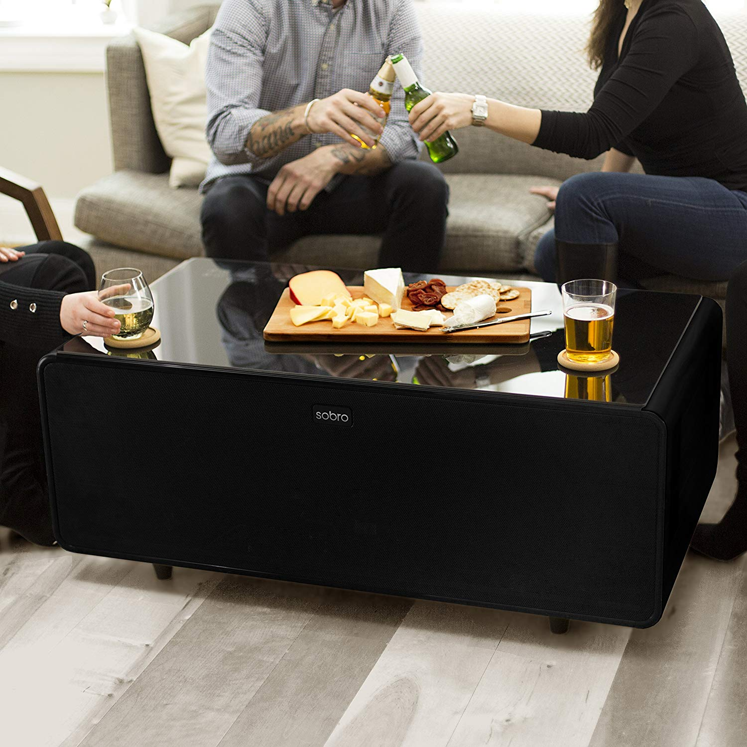 Coffee Table with Refrigerator - Useful Tools Store