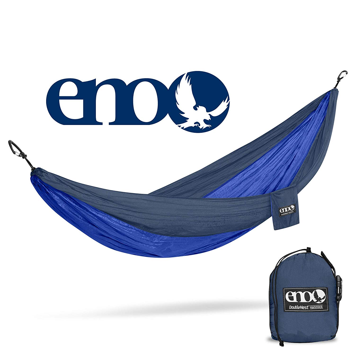 ENO Eagles Nest Outfitters - DoubleNest Hammock, Portable Hammock for Two