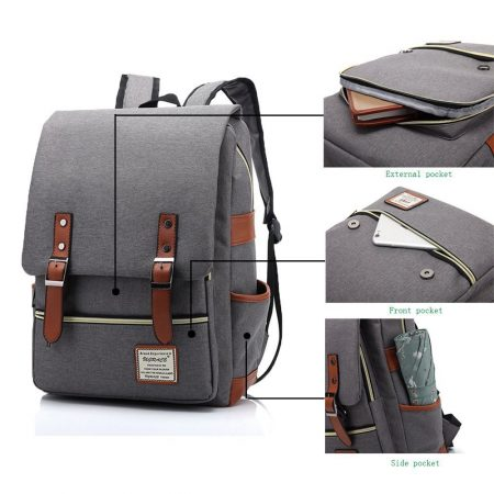 UGRACE Slim Business Laptop Backpack