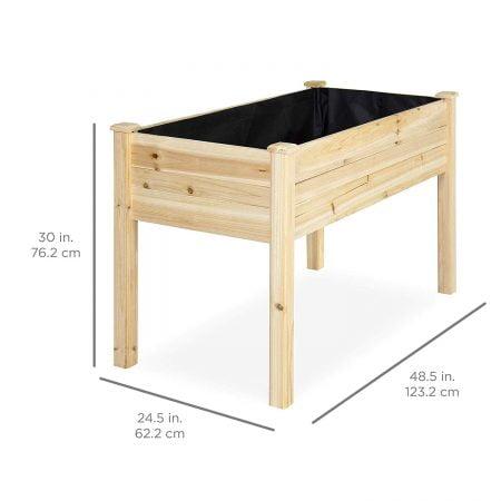 Wood Planter - Garden Bed Box