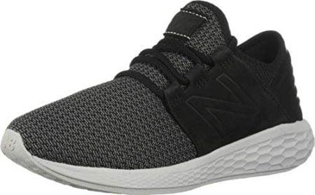 New Balance Men's Cruz V2 Fresh Foam Running Shoe, black/castlerock/nubuck, 10 D US