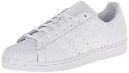adidas Originals Men's Superstar Foundation Casual Sneaker, White/Running White/White, 11.5 D(M) US