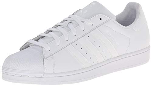 adidas Originals Men's Superstar Foundation Casual Sneaker, White/Running White/White, 11.5 D(M) US