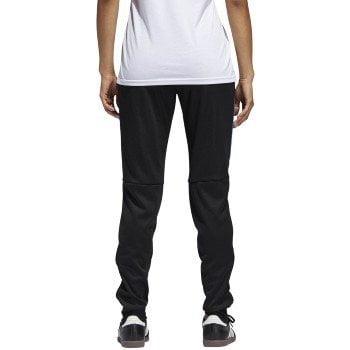 adidas Women's Tiro17 TRG Pant, Black/Blue, Small