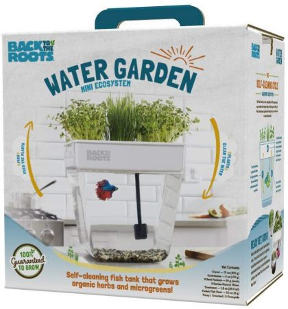 Water Garden Aquarium, Fish Tank That Grows Plants