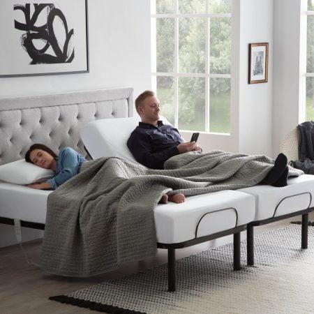 Adjustable Bed Base - High Quality Steel Frame