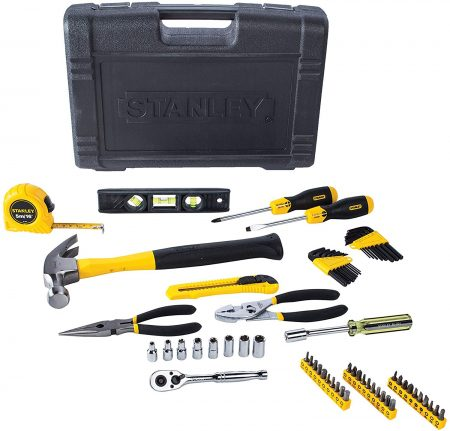 65 Piece Homeowner's DIY Tool Kit