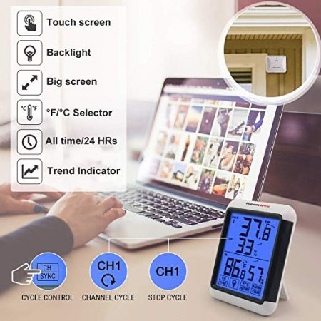 Digital Wireless Hygrometer Thermometer