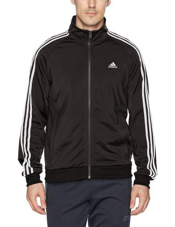 adidas Essentials 3-Stripe Tricot Track Jacket