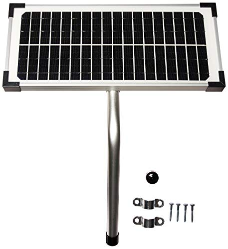 10 Watt Solar Panel Kit (FM123) for Mighty Mule Automatic Gate Openers