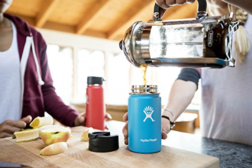 Travel Coffee Flask | Stainless Steel & Vacuum Insulated | Wide Mouth with  Hydro Flip Cap - Useful Tools Store