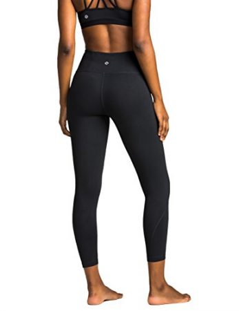 Amazon Brand - Core 10 Women's (XS-3X) 'Build Your Own' Yoga Capri Legging (Multiple Waist Styles Available)