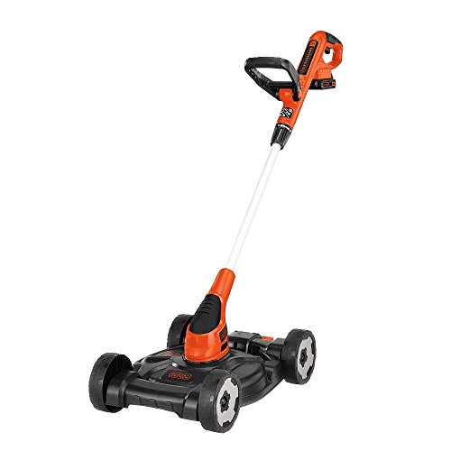 BLACK+DECKER MTC220 12-Inch 20V MAX Lithium Cordless 3-in-1 Trimmer/Edger and Mower