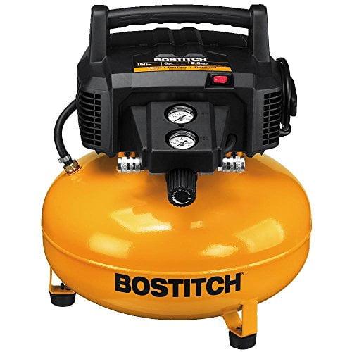 Bostitch BTFP02012 6 Gallon 150 PSI Oil-Free Compressor