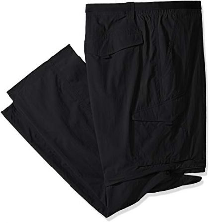 Columbia Men's Silver Ridge Convertible Pant, Black, 42x28