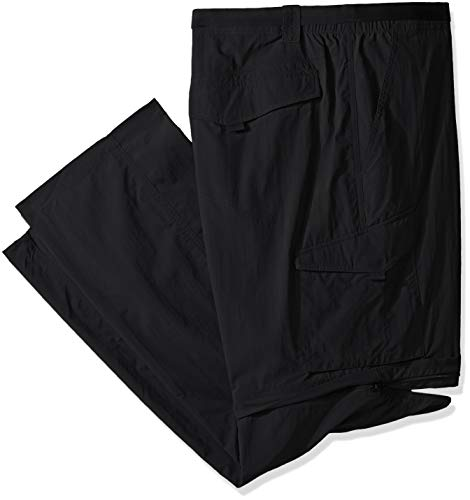 Columbia Men's Silver Ridge Convertible Pant, Black, 42x28