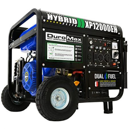 DuroMax Portable Generator, XP12000EH