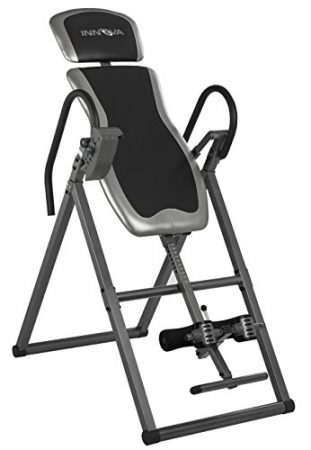 Innova ITX9600 Heavy Duty Inversion Table with Adjustable Headrest and Protective Cover, One Size