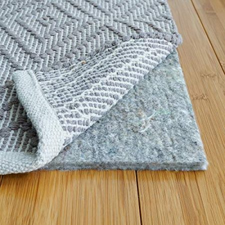 "RUGPADUSA, 8' x 10', 1/3"" Thick, Basics 100% Felt Rug Pad, Safe for All Floors and Finishes, Made in the USA"