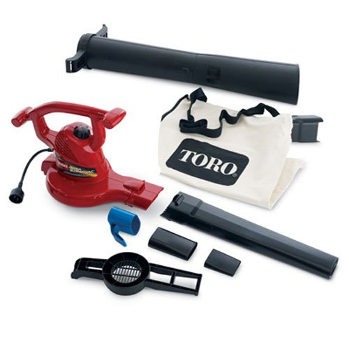 Toro 51619 Ultra Electric Blower Vac, 250 mph, Red
