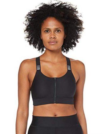Under Armour Women's Balance Eclipse High Zip Reflective Sports Bra