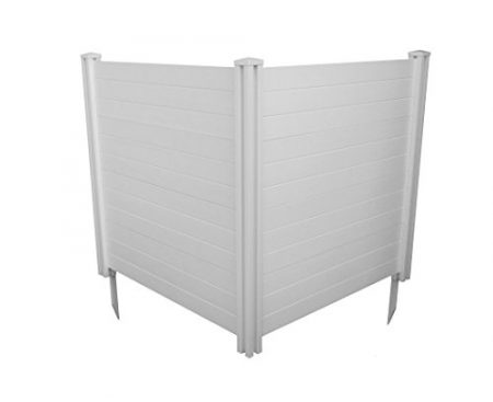 "Zippity Outdoor Products Premium Vinyl Privacy Screen, 48""W x 48""H  (Unassembled)"