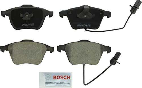 Bosch BC1111 QuietCast Premium Ceramic Disc Brake Pad Set For Audi: 2005-2009 A4, 2005-2009 A4 Quattro, 2006-2011 A6, 2005-2011 A6 Quattro, 2004-2009 S4, 2011-2013 TT Quattro; Front