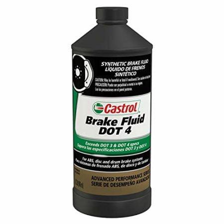 Castrol 12614-12PK DOT-4 Brake Fluid - 1 Quart, (Pack of 12)