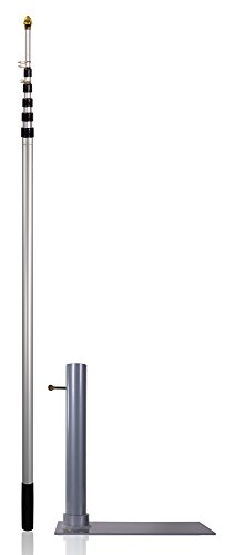 Flagpole-To-Go Ultimate Tailgaters Package with 17' Portable Flagpole