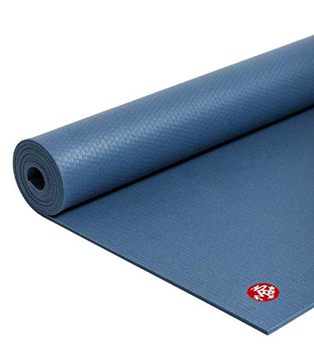 Manduka PRO Yoga Mat - Premium 6mm Thick Mat, Eco Friendly, Oeko-Tex Certified, Chemical Free, High Performance Grip, Ultra Dense Cushioning for Support and Stability in Yoga, Pilates, Gym and Fitness