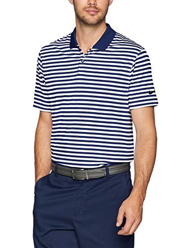 NIKE Men's Dry Victory Stripe Polo Golf Shirt