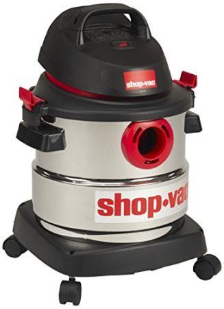 Shop-Vac 5989300 5-Gallon 4.5 Peak HP Stainless Steel Wet Dry Vacuum