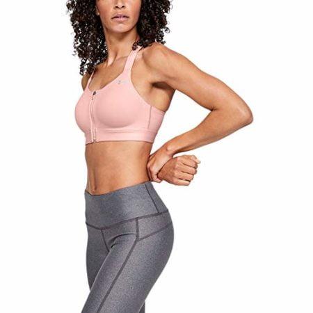 Under Armour Women's Eclipse High Impact Zip Sports Bra